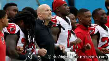 Dan Quinn will support players if they kneel in protest