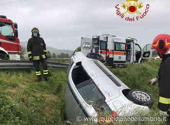 Incidente a Gualdo Tadino: muore 58enne - www.quotidianodellumbria.it