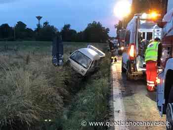 CICONIO - Incidente stradale sulla Feletto-Agliè, uomo di Bosconero ferito - FOTO E VIDEO - QC QuotidianoCanavese