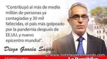 Jair Bolsonaro | Brasil: ¿virus o tumor? por Diego García Sayán | Opinión – Noticias Peru - Noticias por el Mundo