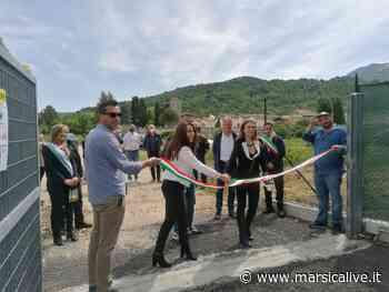 Apre il centro di raccolta comunale a Carsoli, i sindaci: così sconfiggeremo le discariche abusive - MarsicaLive