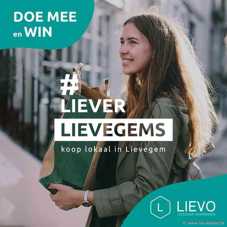 Elke zondag prijs voor wie 'Liever Lievegems' koopt