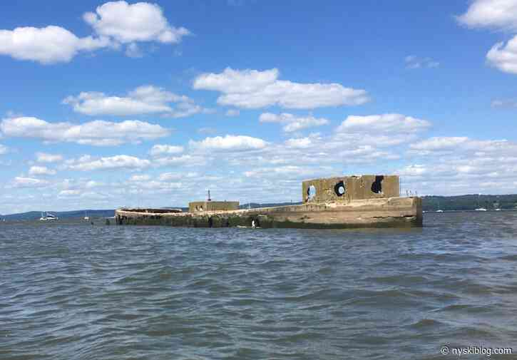 Nyack Kayak and the Concrete Barge