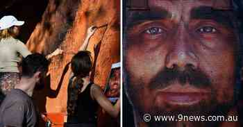 AFL legend Adam Goodes immortalised in three-storey Sydney building mural - 9News