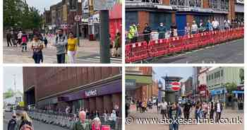 Take a tour of bustling post-lockdown Hanley as YouTuber skips 40-minute intu Potteries queue - Stoke-on-Trent Live