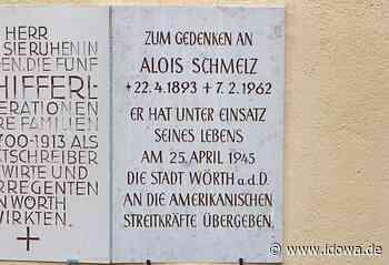 Wörth an der Donau: Ein Denkmal soll an Alois Schmelz erinnern - Donau-Post