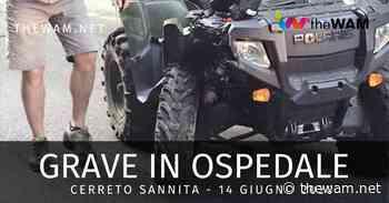 Incidente col quad a Cerreto Sannita per padre e figlio di 5 anni: grave un 29enne - The Wam