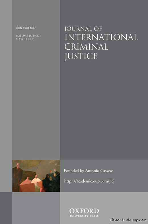 Nazi Crimes Before West German CourtsFritz Bauer as a Visionary of International Criminal Justice?