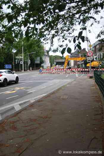 Bau des Regenwasserkanals auf der Elberfelder Straße in Hilden schreitet voran: Arbeit am nächsten Bauabschnitt - Hilden - Lokalkompass.de