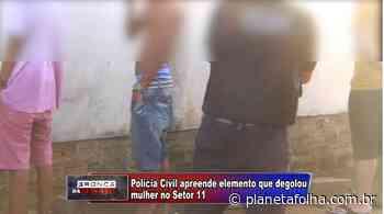 Suspeito de matar garota de 20 anos degolada em Ariquemes é preso em operação da PC - Planeta Folha