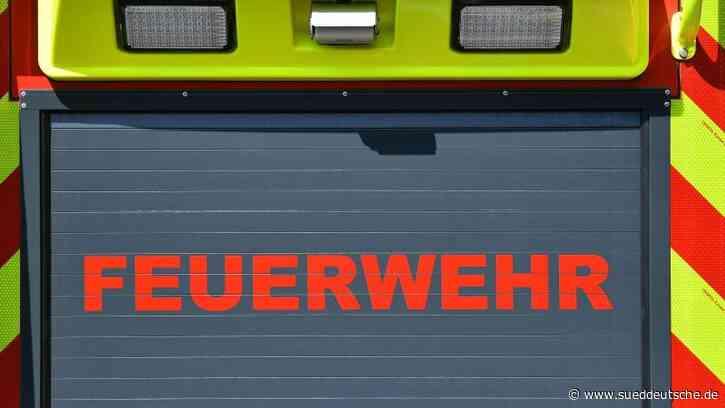 Pferdestall durch Feuer zerstört: Tiere gerettet - Süddeutsche Zeitung