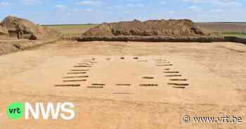 Huis van ongeveer 3.000 jaar oud opgegraven in Gingelom - VRT NWS