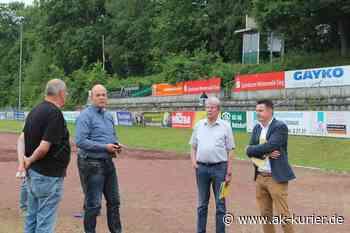 SG 06 Betzdorf: Vertreter der Stadt besuchten Stadion auf dem Bühl - AK-Kurier - Internetzeitung für den Kreis Altenkirchen