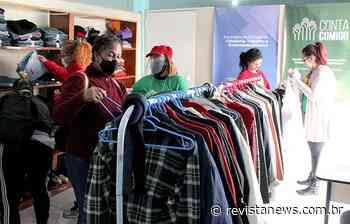 Esteio inicia distribuição das doações da Campanha do Agasalho - Revista News