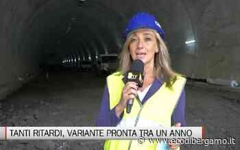 Variante di Zogno, la fine dei lavori slitta a giugno 2021 - L'Eco di Bergamo