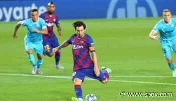 FC Barcelona holt zweiten Sieg nach Restart: Ansu Fati und Lionel Messi treffen gegen Leganes - SPOX.com