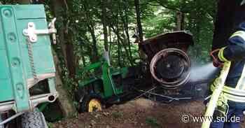 Unbekannter zündet Traktor in Marpingen an - sol.de