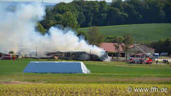 Brände in Dornburg und Flörsheim: Hoher Schaden - HIT RADIO FFH