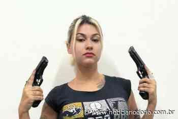 Sara Winter é presa pela Policia Federal, em Brasilia - Noticiário do Rio