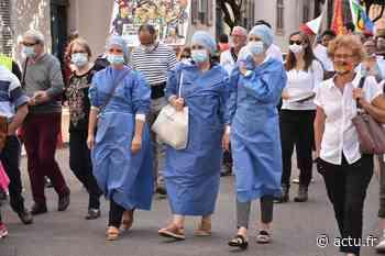 Jura. De Dole à Saint-Claude en passant par Lons-le-Saunier, ils ont manifesté pour la survie des hôpitaux - actu.fr