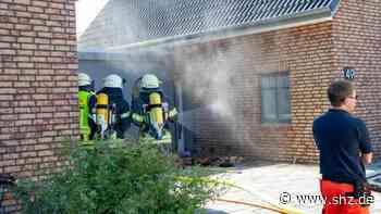 Heiligenhafen : Feuerwehr verhindert Großbrand in Einfamilienhaus | shz.de - shz.de