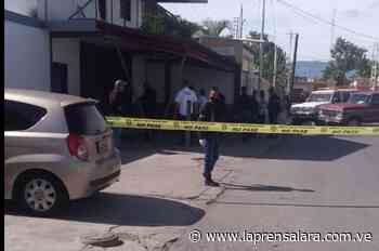 Lanzan artefacto explosivo en concesionario de motos en Quíbor - La Prensa de Lara