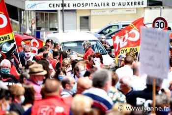 A Auxerre, Sens, Joigny... Retour sur une journée de mobilisation du personnel soignant dans le département - Auxerre (89000) - L'Yonne Républicaine