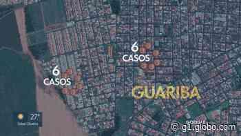 Guariba, SP, mapeia casos de Covid-19 por bairro; Centro é a região mais afetada pela doença - G1