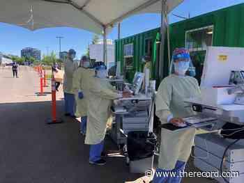 Grand River Hospital opens drive-thru COVID-19 testing centre - TheRecord.com