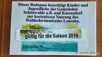 Waldschwimmbad in Lensahn: Kasseedorf und Schönwalde geben kostenlose Badepässe für Kinder und Jugendliche aus   shz.de - shz.de