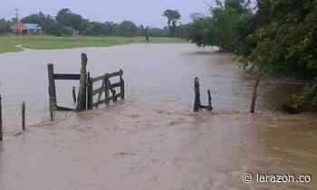 Inundaciones en San Bernardo del Viento tras intensas lluvias - LA RAZÓN.CO