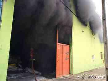 Explosão é registrada em fábrica em Nova Serrana - G1
