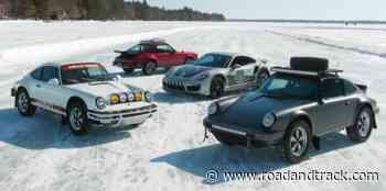 Watch Safari 911s Frolic Through the Snow on a Frozen Lake - RoadandTrack.com