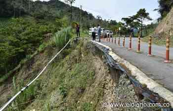 SOS por la carretera al Chocó, lanza alcalde de Pueblo Rico - El Diario de Otún