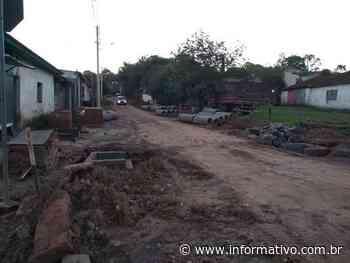Pavimento iniciado no Bairro Olaria em Taquari - Infomativo