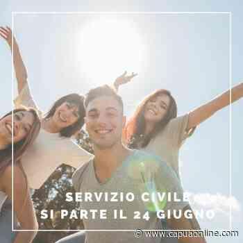 Santa Maria Capua Vetere: Il 24 giugno riparte il Servizio Civile - Capuaonline.com