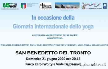 A San Benedetto del Tronto si festeggia ''La Giornata internazionale dello yoga'' - picenotime