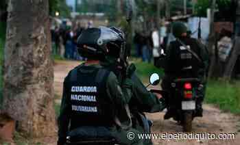 Diario El Periodiquito - GNB neutralizó a sujeto en San Casimiro - El Periodiquito