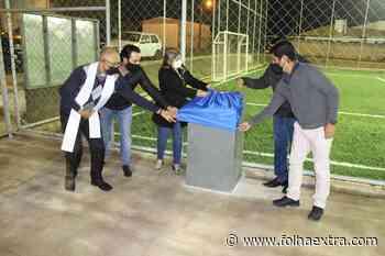 Prefeitura de Arapoti entrega obras das quadras de Futebol Sintético no Bosque - Folha Extra