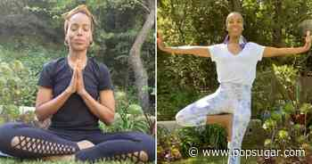 Kerry Washington's At-Home Yoga Tutorials Are Like a Soothing Escape For the Mind - POPSUGAR