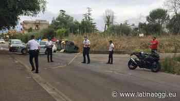 Incidente in moto, ferita una donna - latinaoggi.eu