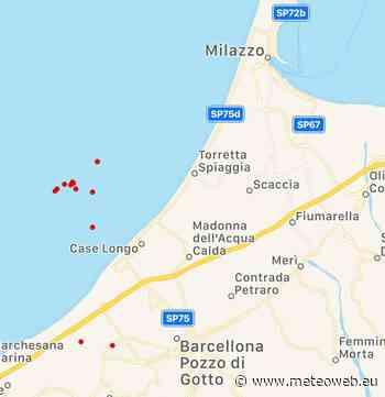 Terremoto in Sicilia, 12 scosse tra Milazzo e Barcellona Pozzo di Gotto [MAPPE e DATI INGV] - Meteo Web