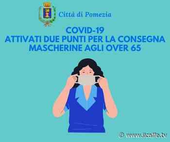 Mascherine agli over 65 anni: nuovi punti di consegna a Torvaianica e Pomezia - Il Caffè.tv