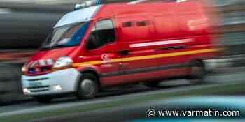 Un accident sur une route départementale entre Hyères et La Crau, les secours sont sur les lieux - Var-Matin
