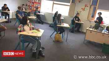 Secondary pupils back - but most only part-time