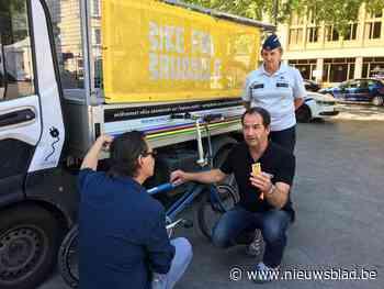 11.000 eigenaars vinden fiets terug dankzij MyBike.brussels-sticker - Het Nieuwsblad