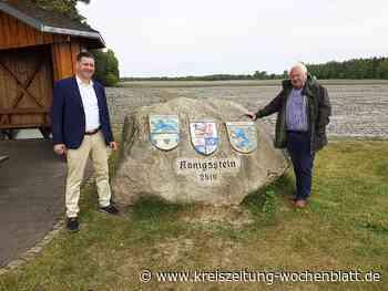 Ausflugsziel: Der Königsstein auf der Kreisgrenze wird zehn Jahre - Tostedt - Kreiszeitung Wochenblatt