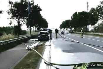 Wagen uitgebrand in Veurne - Verkeer & mobiliteit - KW - Krant van Westvlaanderen