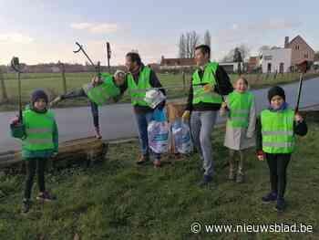 Mooi zo: Lievegemse ploggers maken al 45 kilometer wegen schoon