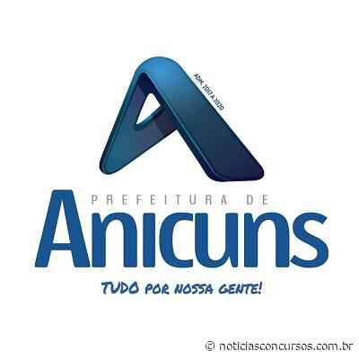 Processo seletivo Prefeitura de Anicuns GO tem inscrições abertas! Até R$ 2.250,00! - Notícias Concursos